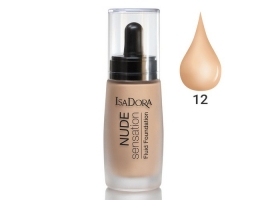 ایزادورا کرم پودر نوود سنسیشن Isadora Nude Sensation Foundation 12