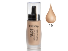 ایزادورا کرم پودر نوود سنسیشن Isadora Nude Sensation Foundation 16