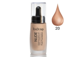 ایزادورا کرم پودر نوود سنسیشن Isadora Nude Sensation Foundation 20