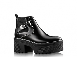 FIGHTER PLATFORM ANKLE BOOT